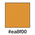 Dagens orange, ea8f00.